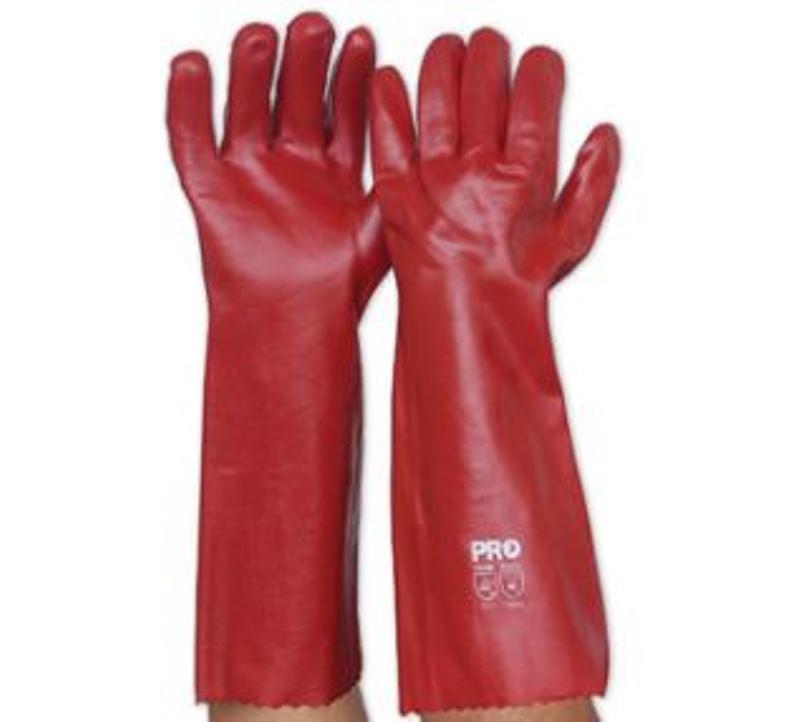 Red PVC Long
